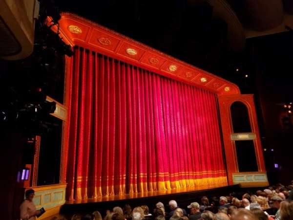 Marquis Theatre, vak: Orchestra L, rij: J, stoel: 15