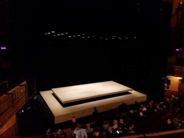Ethel Barrymore Theatre, vak: Front Mezzanine L, rij: A, stoel: 11