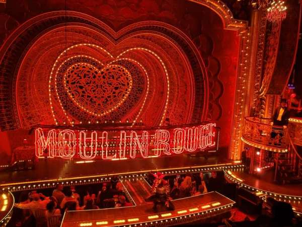 Al Hirschfeld Theatre, vak: Mezzanine C, rij: A, stoel: 115