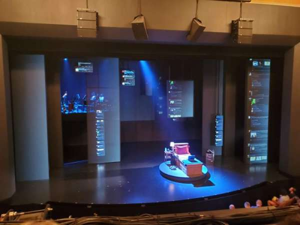 Music Box Theatre, vak: Mezzanine C, rij: B, stoel: 113