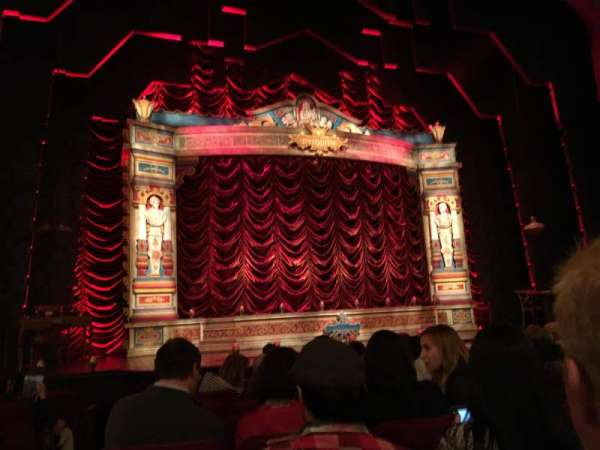 Walter Kerr Theatre, vak: Orchestra, rij: K, stoel: 118