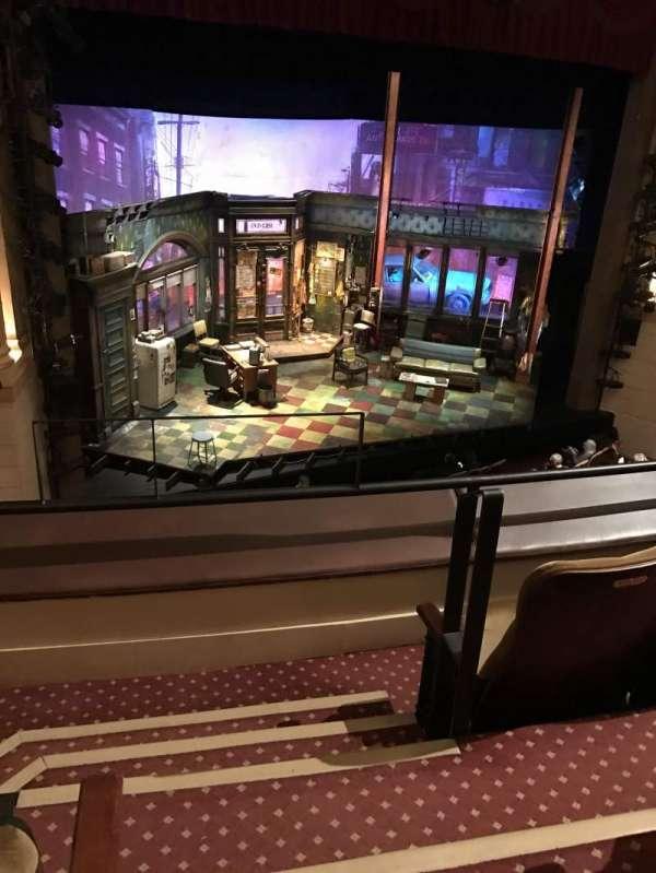 Samuel J. Friedman Theatre, vak: Mezzanine, rij: A, stoel: 1