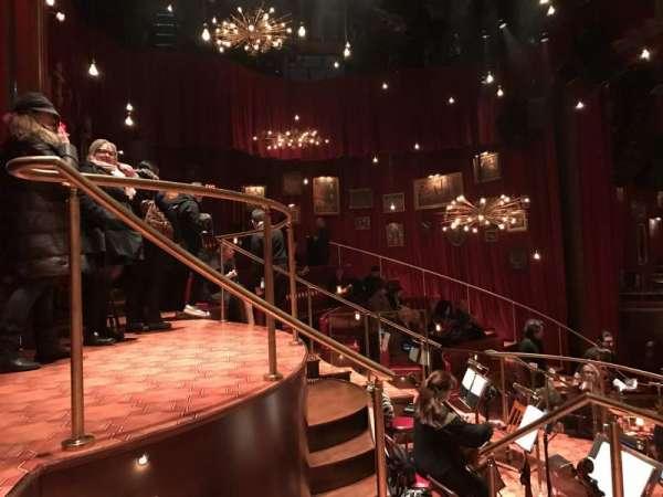 Imperial Theatre, vak: Onstage, rij: BD, stoel: 21