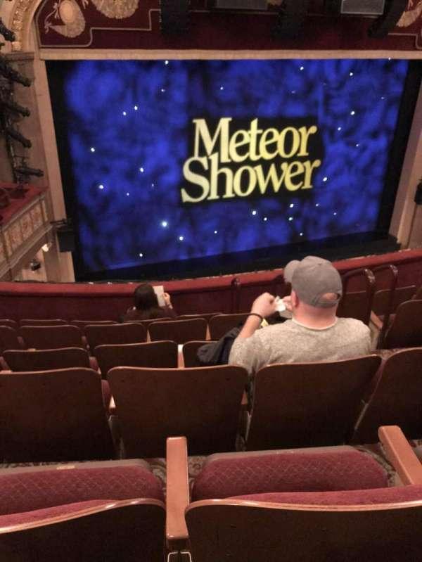 Booth Theatre, vak: Mezzanine, rij: F, stoel: 7