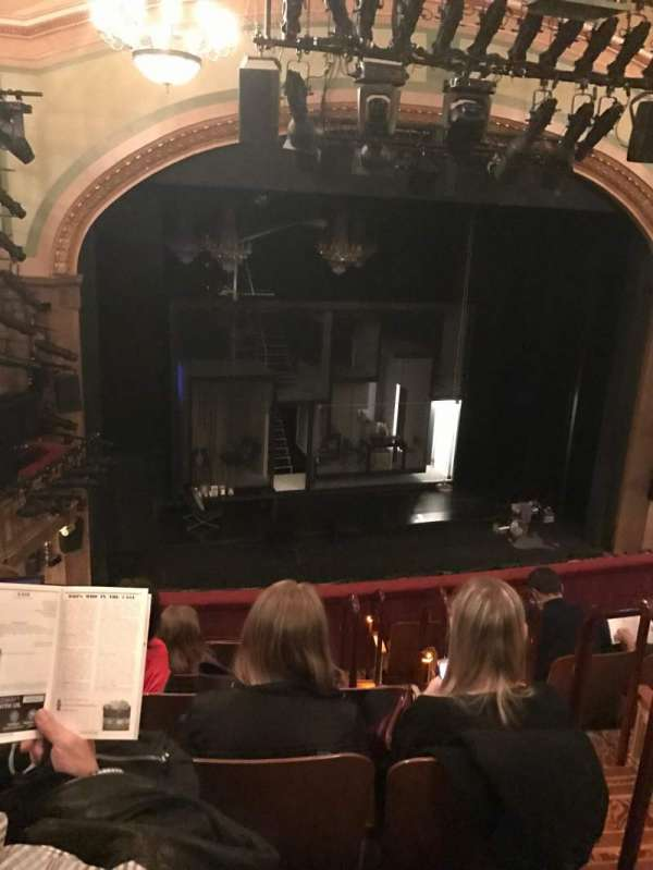 Booth Theatre, vak: Mezzanine, rij: G, stoel: 5