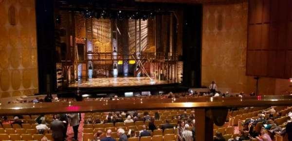 Fisher Theatre, vak: MZCTR, rij: A, stoel: 113