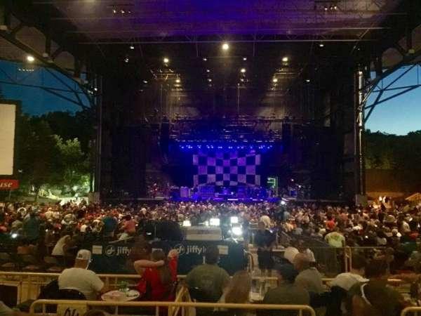 Jiffy Lube Live, vak: 203, rij: 3C, stoel: 3