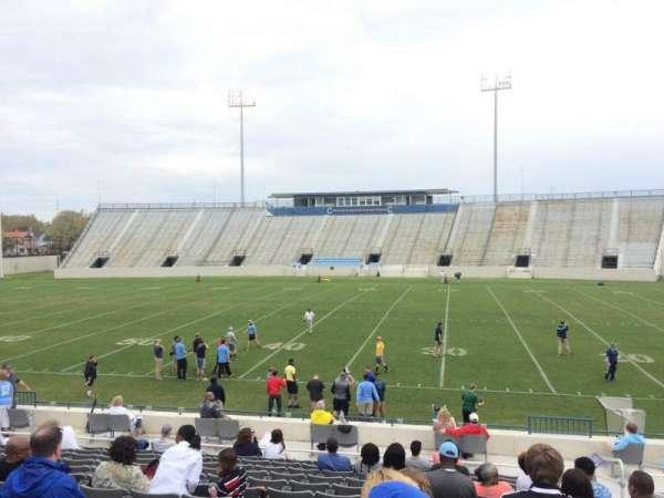 Johnson Hagood Stadium, vak: F, rij: 15, stoel: 3