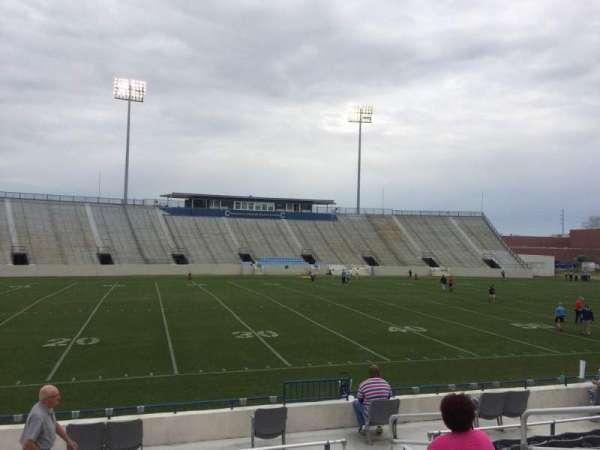 Johnson Hagood Stadium, vak: I, rij: 10, stoel: 6