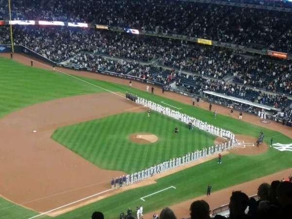 Yankee Stadium, vak: 428, rij: 7, stoel: 1