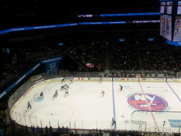 Barclays Center, vak: 226, rij: 8, stoel: 1
