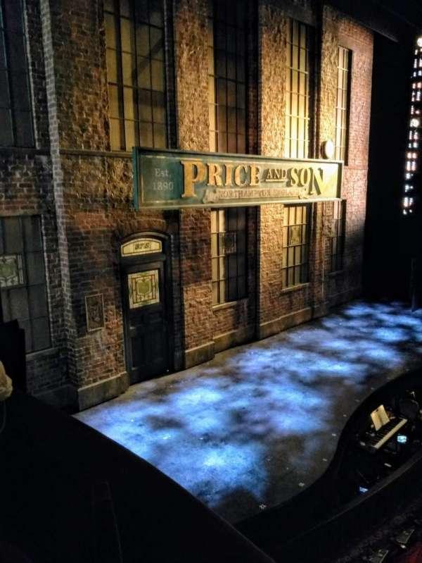Al Hirschfeld Theatre, vak: Left Box, rij: C, stoel: 6