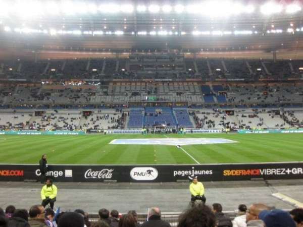 Stade de France, vak: Tribune Base- Est G5, rij: 10, stoel: 10
