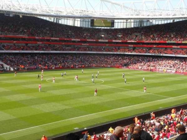 Emirates Stadium, vak: Block 66, rij: 8, stoel: 577