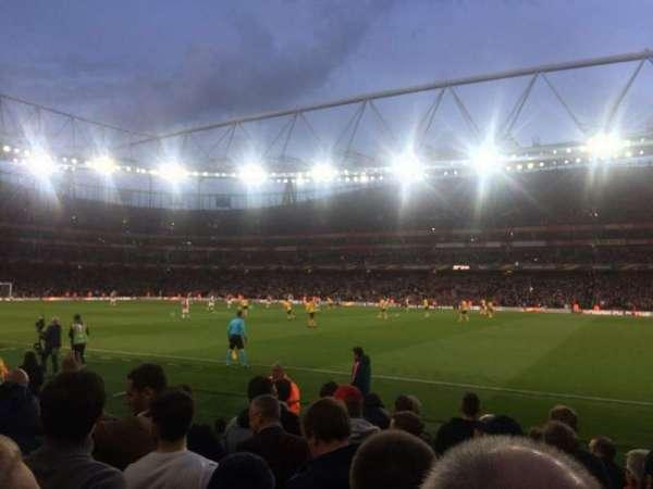 Emirates Stadium, vak: Block 31, rij: 8, stoel: 964