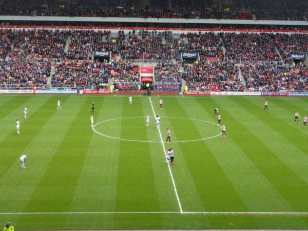 Stadium Of Light, vak: Block U5, rij: 41, stoel: 407