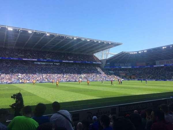 Cardiff City Stadium, vak: 207, rij: G, stoel: 377