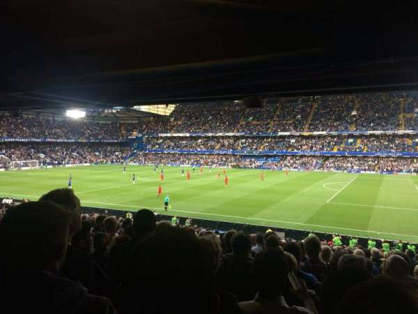 Stamford Bridge, vak: West Stand Lower 1, rij: 35, stoel: 0020