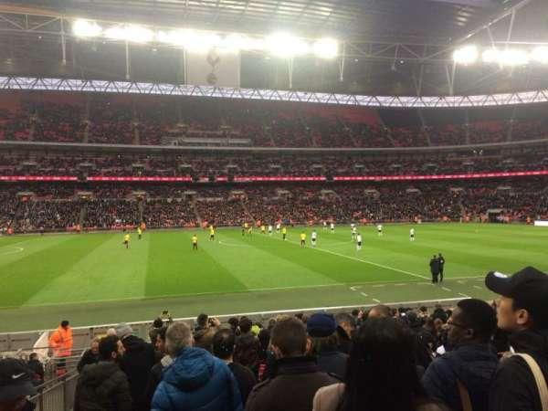 Wembley Stadium, vak: 102, rij: 18, stoel: 67