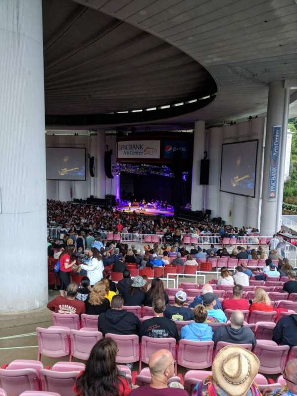 PNC BANK ARTS CENTER, vak: CITI DECK , SOUTH DECK