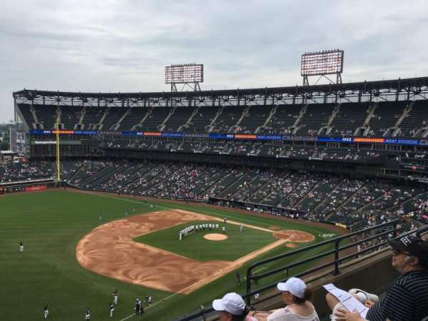 Guaranteed Rate Field, vak: 548, rij: 5, stoel: 6