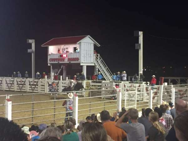 Cowtown Rodeo, vak: General Admission, rij: 8 , stoel: South Bleachers