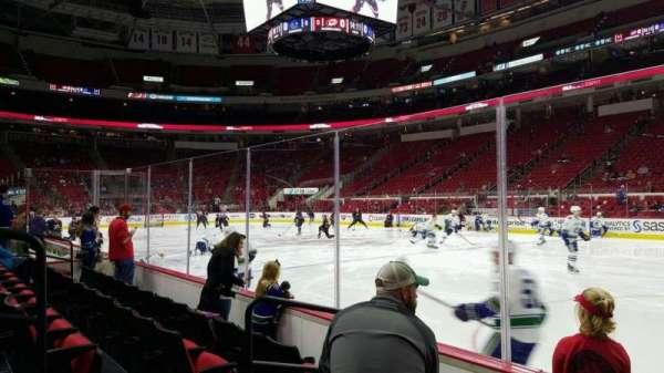 PNC Arena, vak: 101, rij: d, stoel: 4