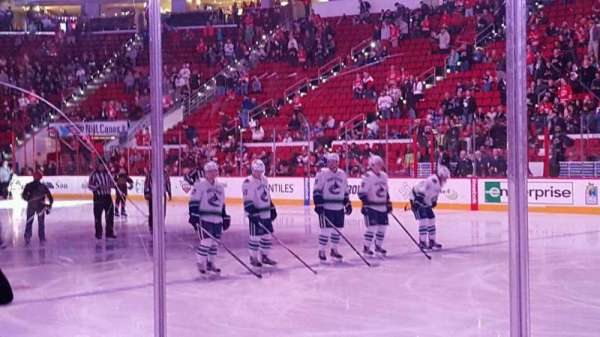 PNC Arena, vak: 101 , rij: d, stoel: 3