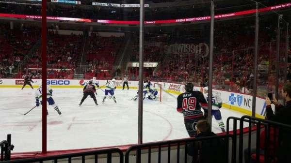 PNC Arena, vak: 101, rij: d, stoel: 5