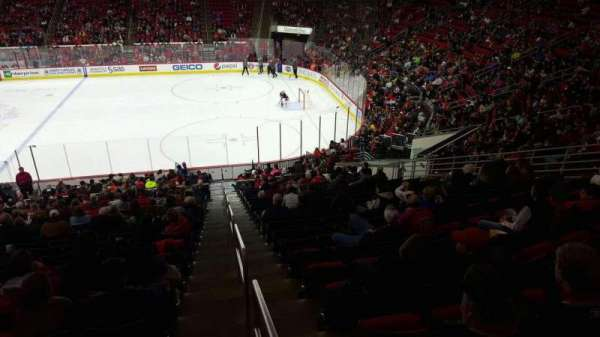 PNC Arena, vak: 101, rij: all, stoel: all