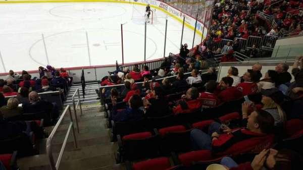 PNC Arena, vak: 101, rij: all lower, stoel: all lower