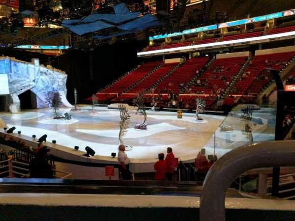 PNC Arena, vak: 130, rij: k, stoel: 1