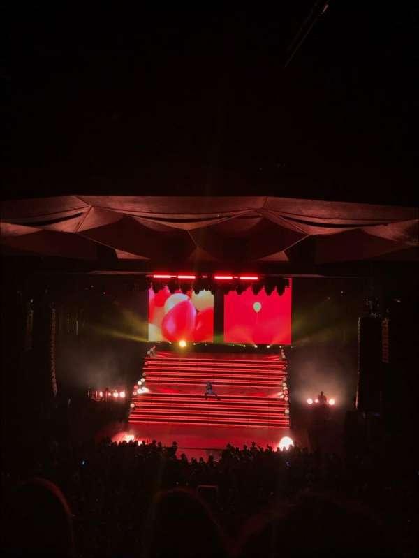 Saratoga Performing Arts Center, vak: 15, rij: E, stoel: 20