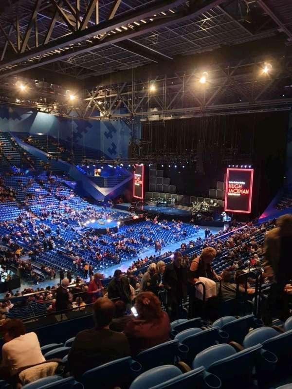 RAC Arena, vak: 309, rij: L, stoel: 5