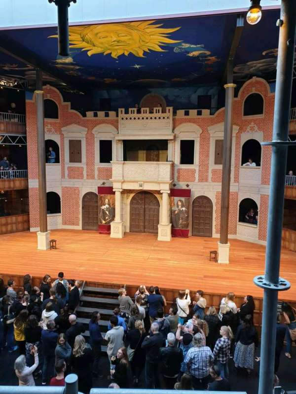 Pop-Up Globe Theatre (Perth Western Australia), vak: mid level G, rij: B, stoel: 36