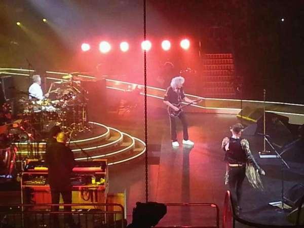 Mohegan Sun Arena, vak: 26, rij: S, stoel: 11-13