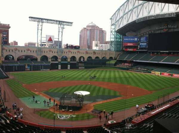 Minute Maid Park, vak: Press Box