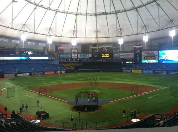 Tropicana Field, vak: Press Box