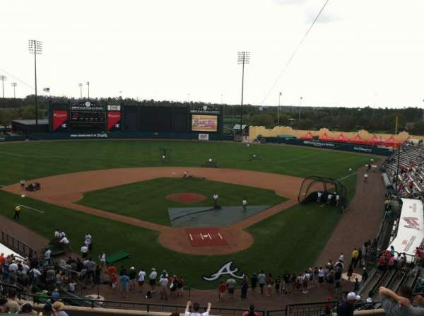 ESPN Wide World of Sports Complex, vak: Press Box