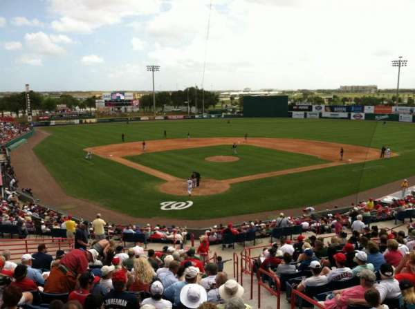 Space Coast Stadium, vak: Visiting Radio Booth