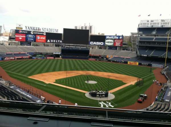 Yankee Stadium, vak: Press Box