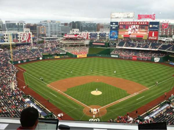 Nationals Park, vak: Press Box
