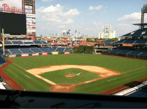Citizens Bank Park, vak: Press Box