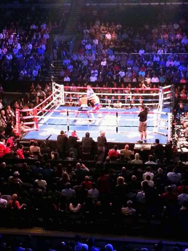 American Bank Center, vak: 103, rij: media, stoel: room
