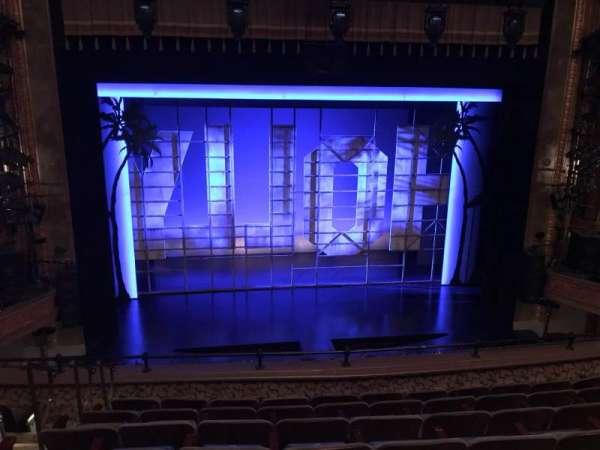 Nederlander Theatre, vak: MEZZC, rij: G, stoel: 112 And 113