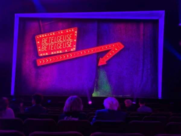 Winter Garden Theatre, vak: ORCC, rij: H, stoel: 105 And 106