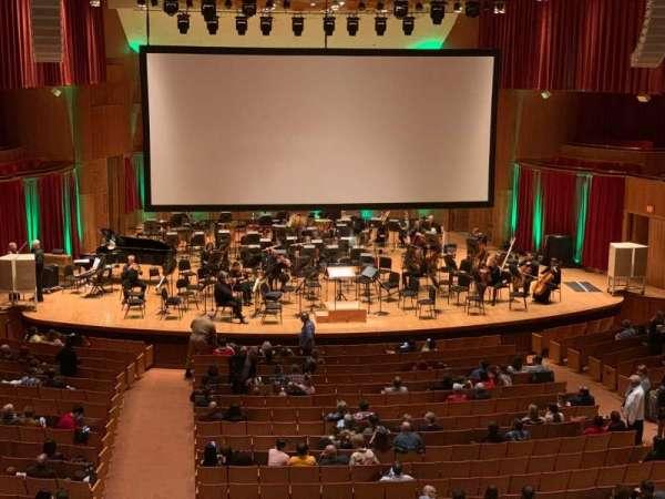 Joseph Meyerhoff Symphony Hall, vak: Grand Tier Center Left, rij: A, stoel: 115