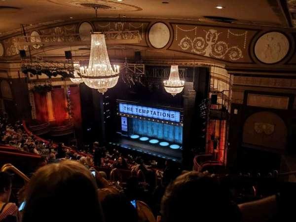 Imperial Theatre, vak: Rear Mezzanine 1, rij: J, stoel: 6