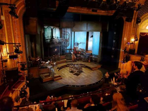 Walter Kerr Theatre, vak: Mezzanine L, rij: E, stoel: 17