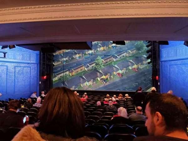 Hayes Theater, vak: Orchestra C, rij: R, stoel: 101